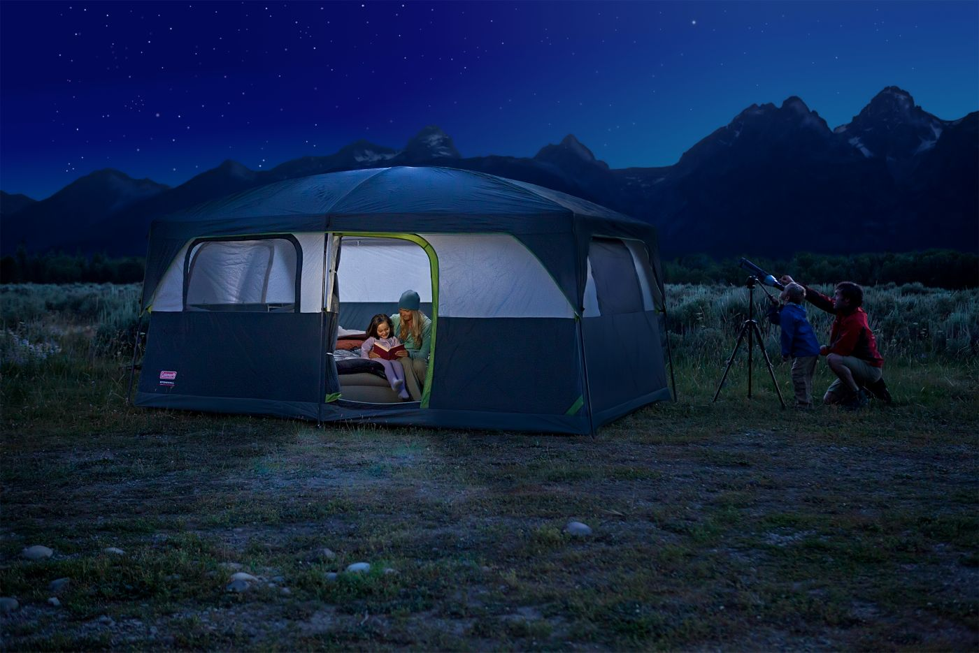 ... Tent · Signature Prairie Breeze™ 9-Person ...  sc 1 st  Coleman & Tent for Camping | Coleman Tent | Coleman