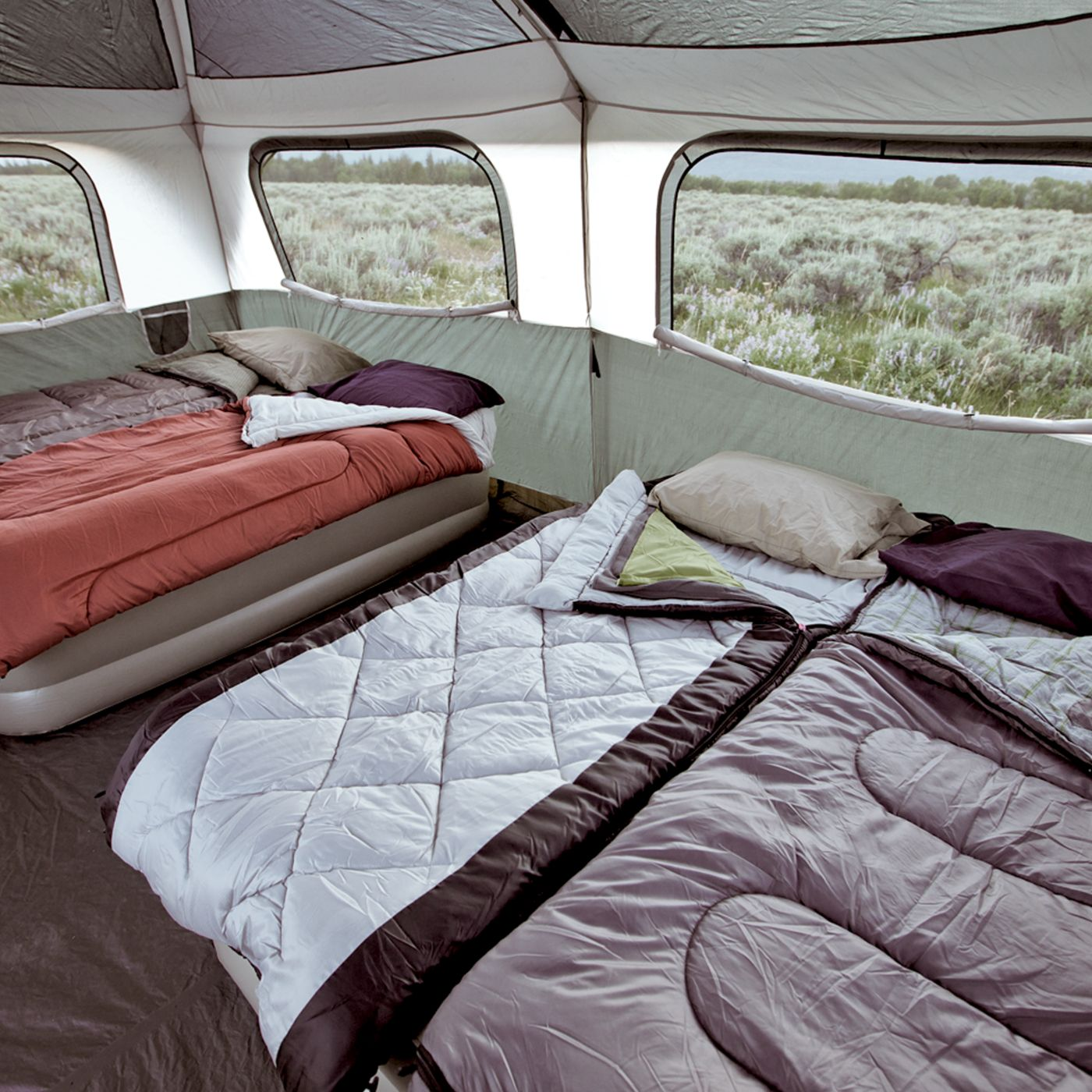 Exceptionnel ... Signature Prairie Breeze™ 9 Person Tent ...