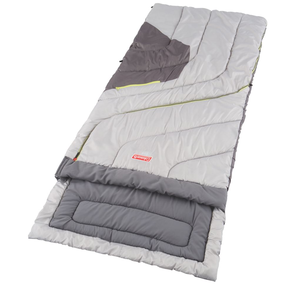 Adjustable Comfort Big And Tall Sleeping Bag Coleman