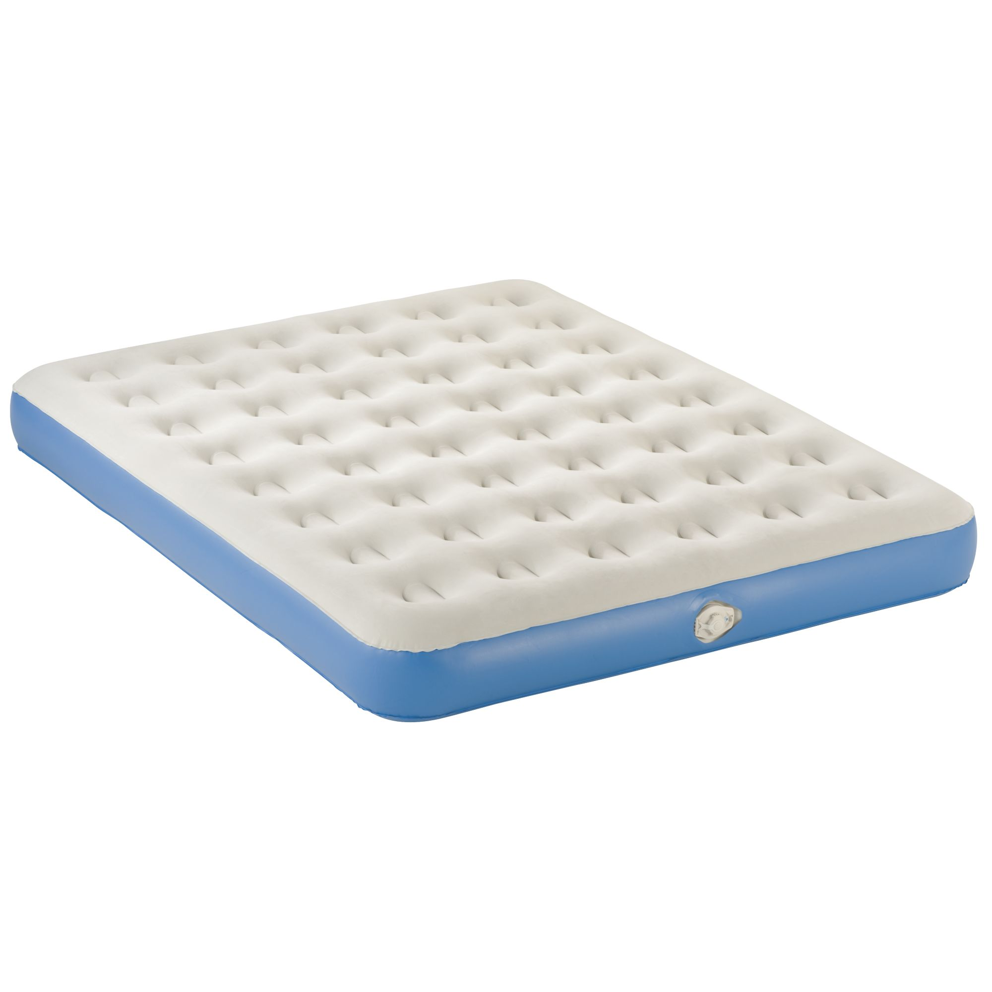 with pump intex w comfort elevated queen built mattress in air plush