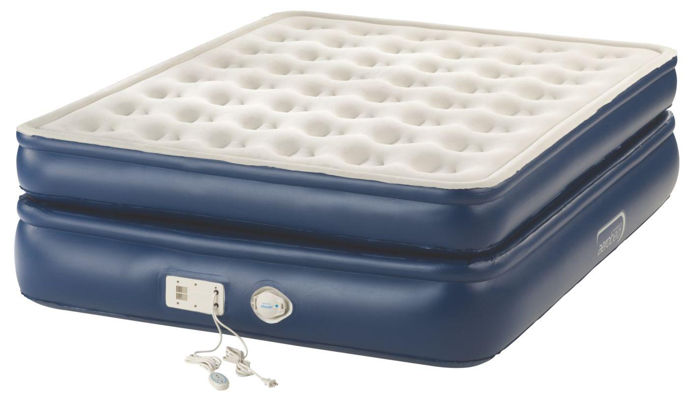 premier bed with builtin pump queen