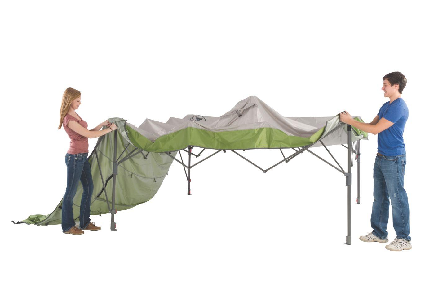 Swingwall Instant Canopy · 10 ft. x 10 ft. Swingwall Instant Canopy  sc 1 st  Coleman & Coleman® Swingwall Instant Canopy 10 ft X 10 ft