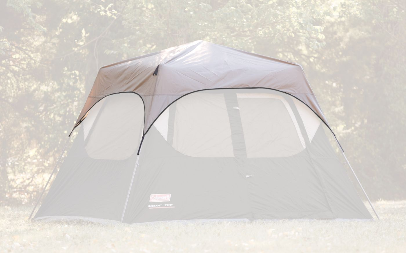 4-Person Instant Tent Rainfly Accessory image 2 ...  sc 1 st  Coleman & 4-Person Instant Tent Rainfly Accessory | Coleman