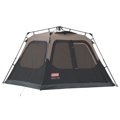 4-Person Cabin Camping Tent with Instant Setup