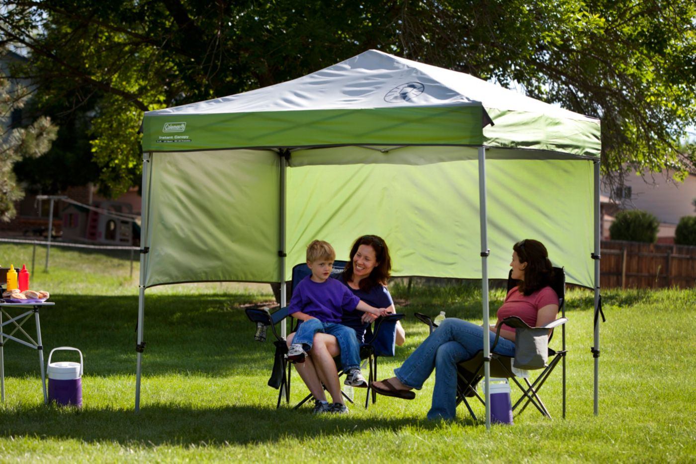 Instant Canopy Sunwall Accessory · Instant Canopy Sunwall Accessory  sc 1 st  Coleman & Instant Canopy | Camping Accessories | Coleman