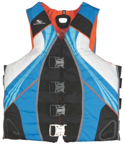 Adult Mens Illusion Vest-Blue/Grey