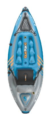 QuikPak™ K1 Coverless Sit-On-Top Kayak