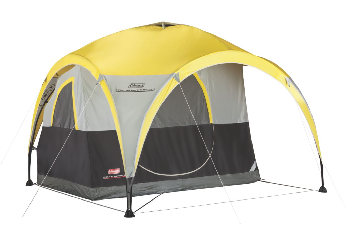 2-For-1 All Day 2-Person Shelter u0026 Tent  sc 1 st  Coleman : coleman rosewood tent - memphite.com