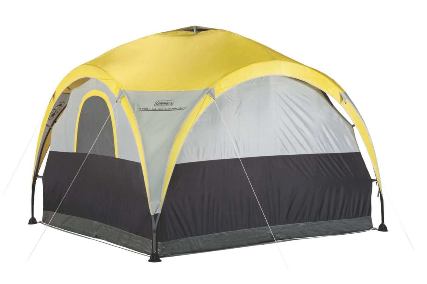 ... Tent · 2-For-1 All Day 4-Person Shelter u0026 ...  sc 1 st  Coleman & 4 Person Dome Tents | Coleman Tents | Coleman