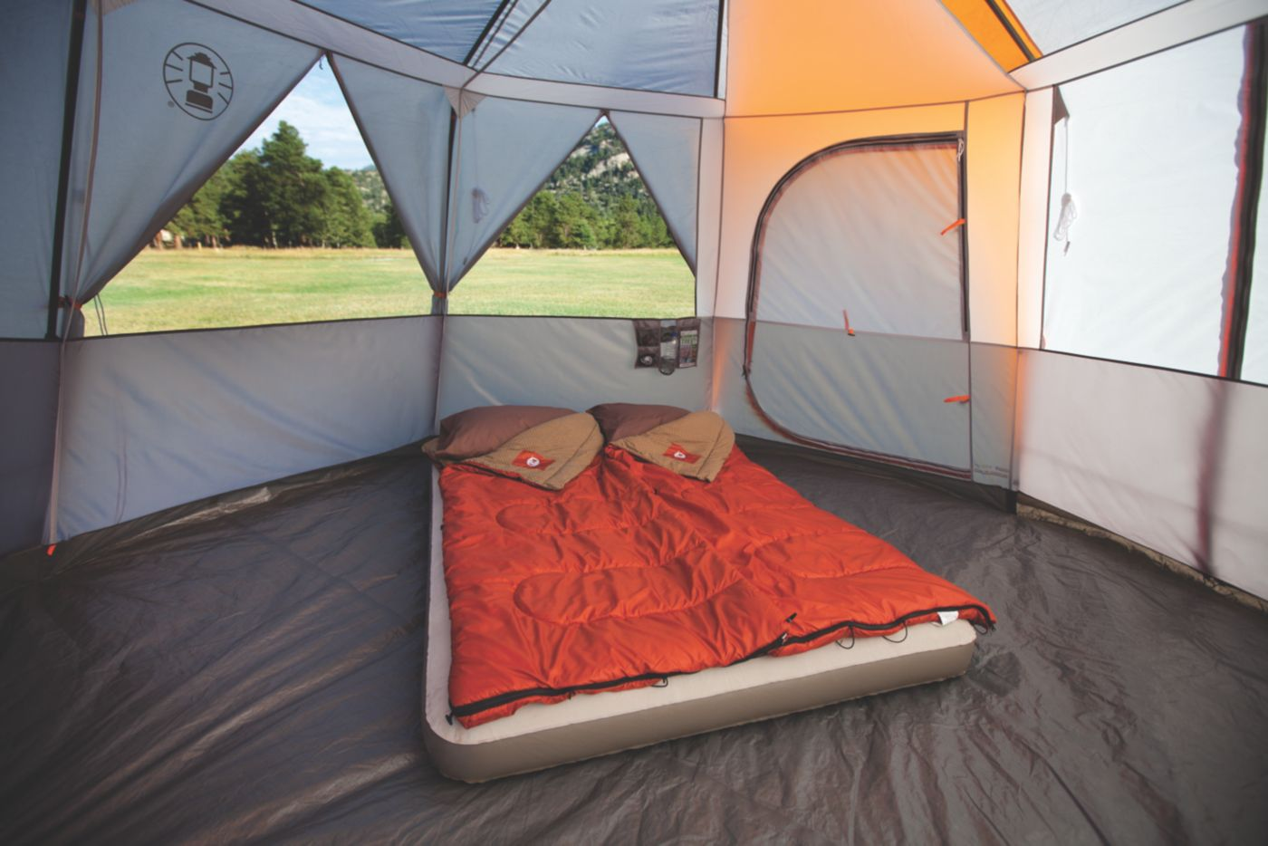 ... Octagon 98 with Full Fly ...  sc 1 st  Coleman & Big Camping Tent | Camp Tents | Coleman