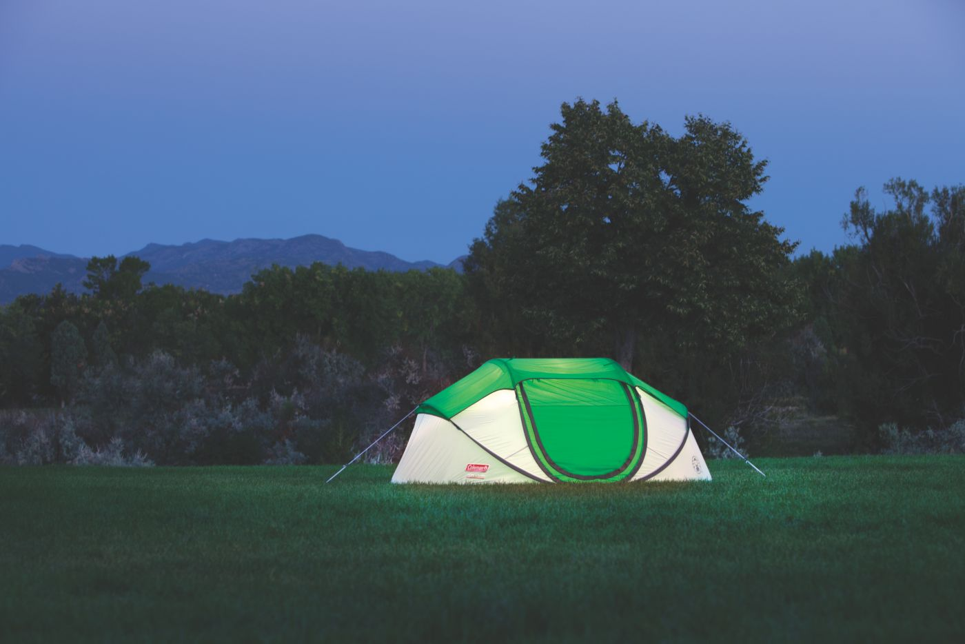 ... 4-Person Pop-Up Tent  sc 1 st  Coleman : coleman 4 person instant up tent - memphite.com