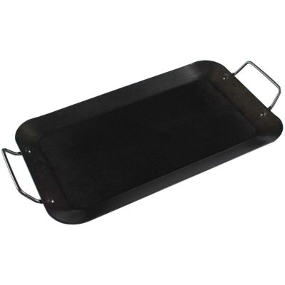 NON-STICK STEEL GRIDDLE
