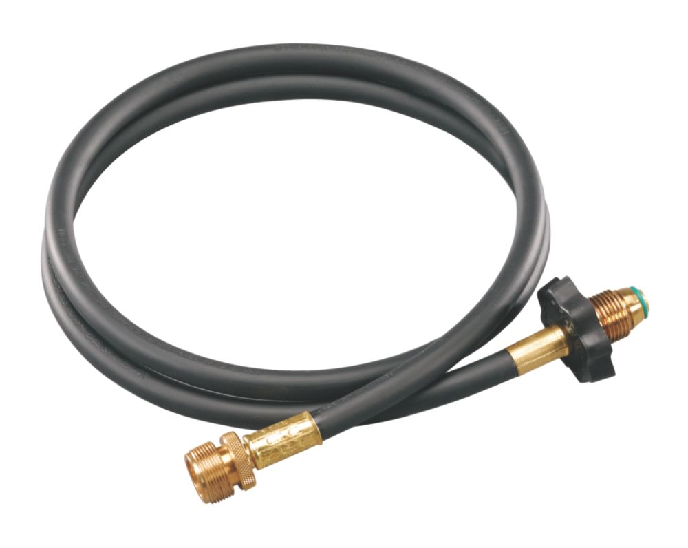5-ft (1.52-m) High-Pressure Propane Hose & Adapter