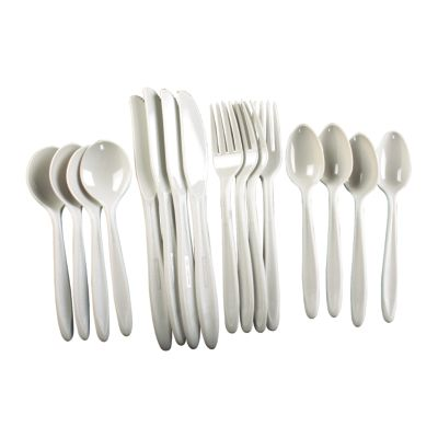 16 Piece Polycarbonate Flatware