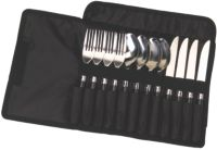 12-Piece Stainless Steel Enamel Flatware