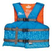 Adult Nylon Oversized Vest - Blue