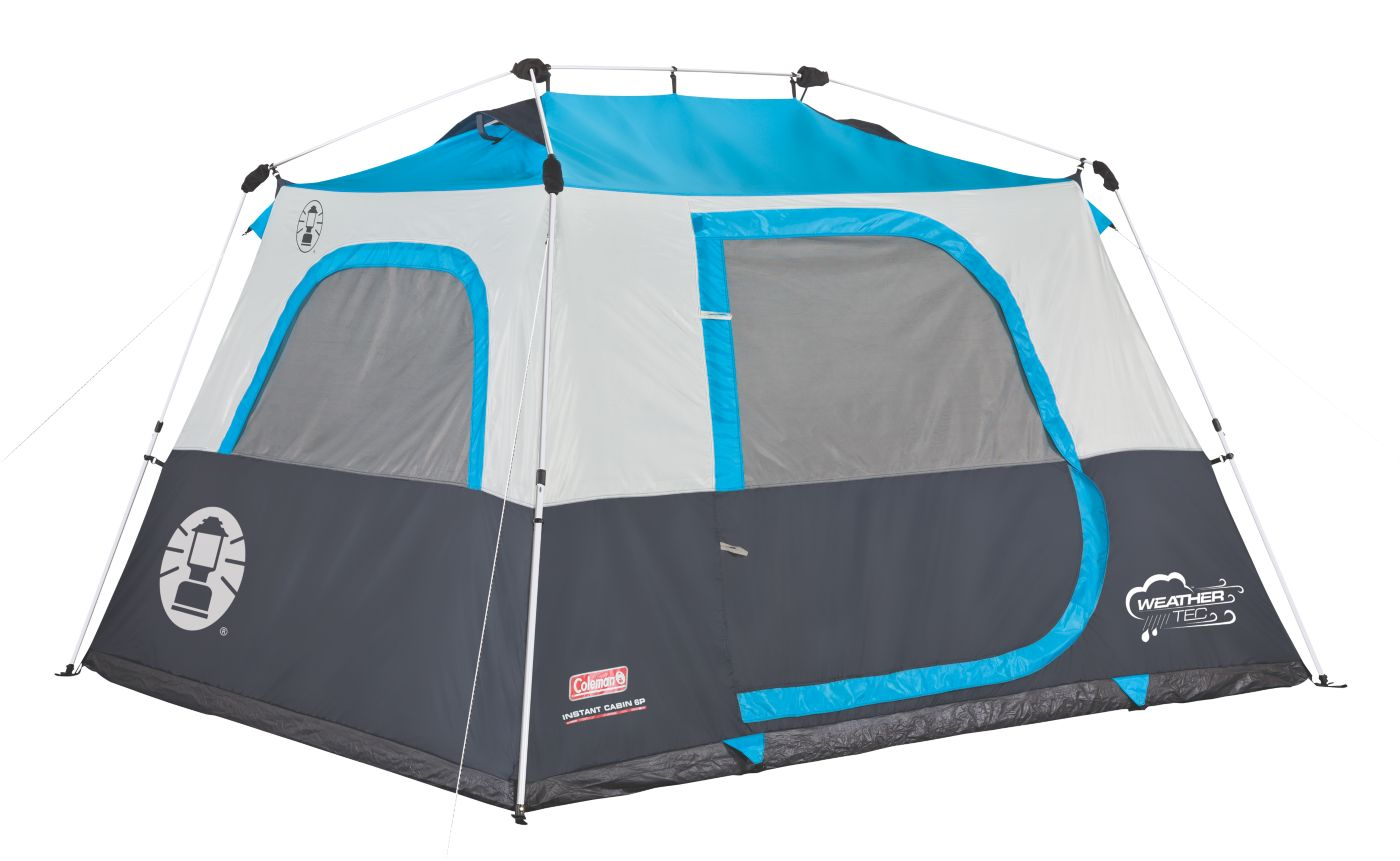 6-Person Instant Cabin  sc 1 st  Coleman & Coleman® 6-Person Instant Tent