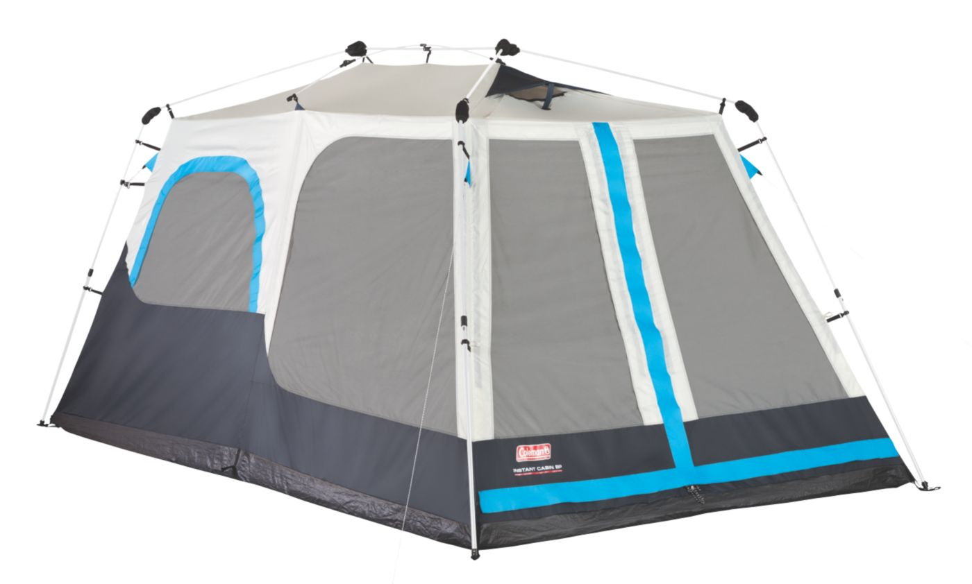 8-Person Instant Cabin With Mini-Fly  sc 1 st  Coleman : coleman tent instant 8 person - memphite.com