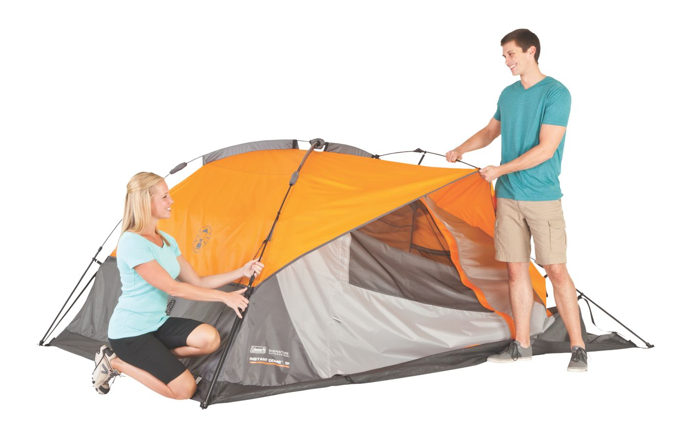... 5-Person Instant Dome Tent ...  sc 1 st  Coleman : coleman sundome tent 5 person - memphite.com