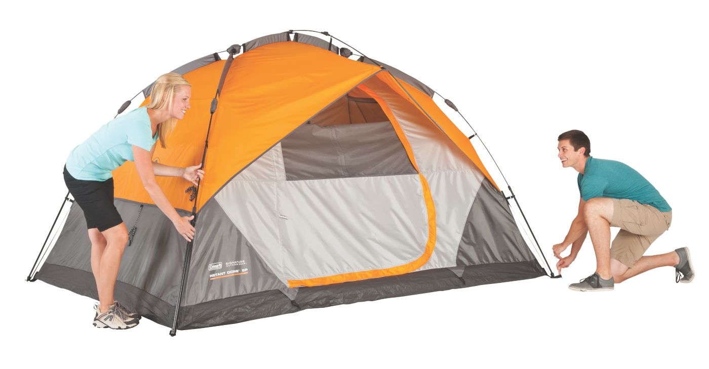 ... Tent · Signature 7-Person Instant Dome™ ...  sc 1 st  Coleman & 7 Person Tent | Dome Tents | Coleman