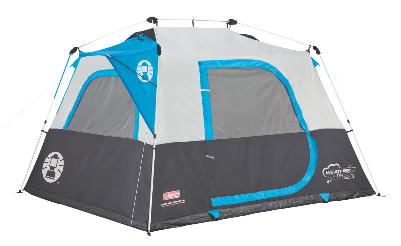 4-Person Instant Cabin With Mini-Fly  sc 1 st  Coleman & Instant Tents for Camping | Coleman Tents | Colema
