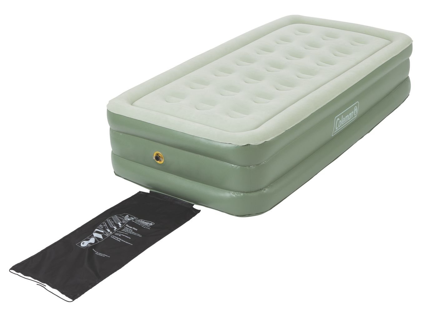 supportrest double high airbed u2013 twin
