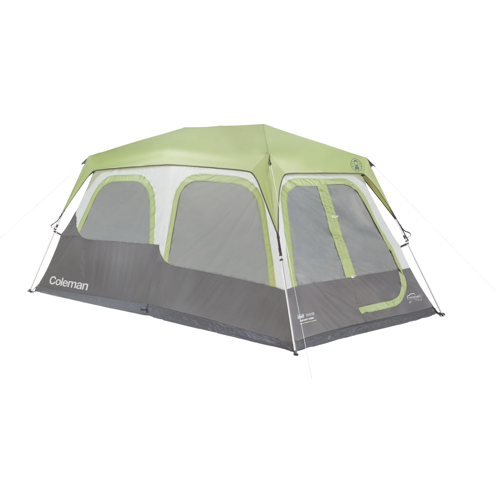 Signature 8 person instant cabin with rainfly coleman signature 8 person instant cabin with rainfly sciox Choice Image