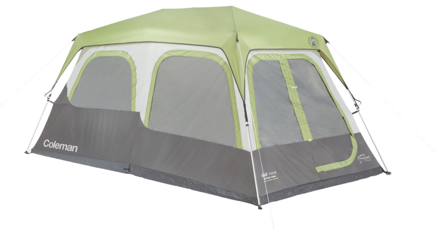 Signature 8-Person Instant Cabin with Rainfly  sc 1 st  Coleman & Big Camping Tents | 8 Person Tent | Coleman