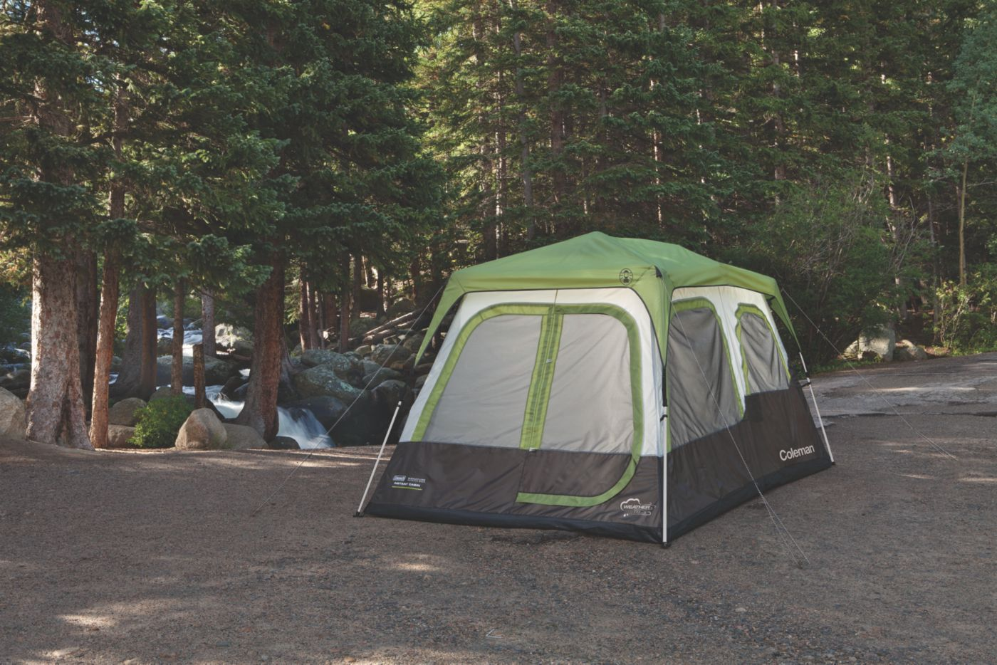 ... Signature 8-Person Instant Cabin with Rainfly  sc 1 st  Coleman & Big Camping Tents | 8 Person Tent | Coleman