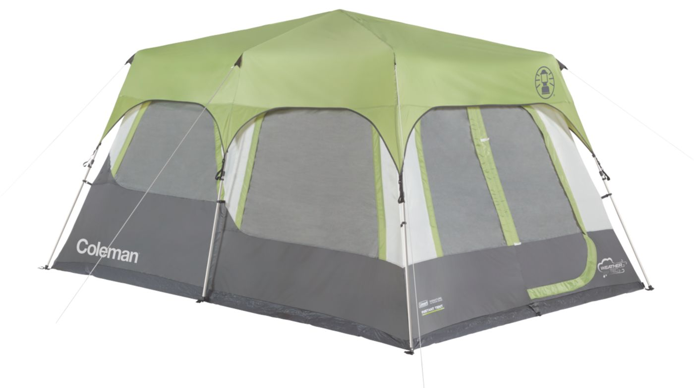 Signature 10-Person Instant Cabin with Rainfly  sc 1 st  Coleman & Instant Tents | 10 Person Camping Tent | Coleman