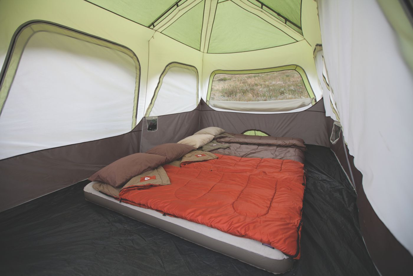 ... Signature 10-Person Instant Cabin with Rainfly ...  sc 1 st  Coleman : coleman instant up 10 person tent - memphite.com
