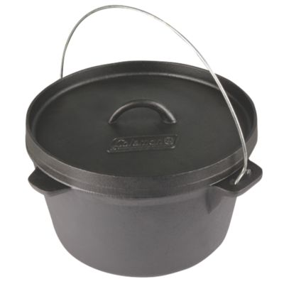 7.5-qt. Cast Iron Dutch Oven
