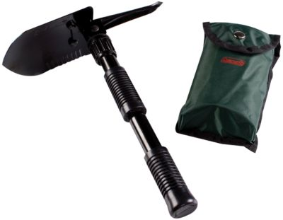 Folding Shovel with Pick