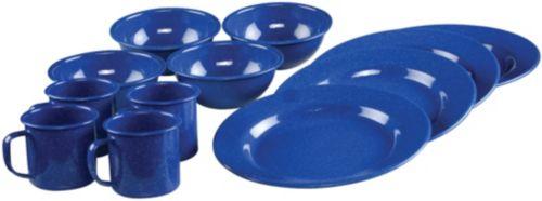 12-Piece Enamel Dinnerware Set