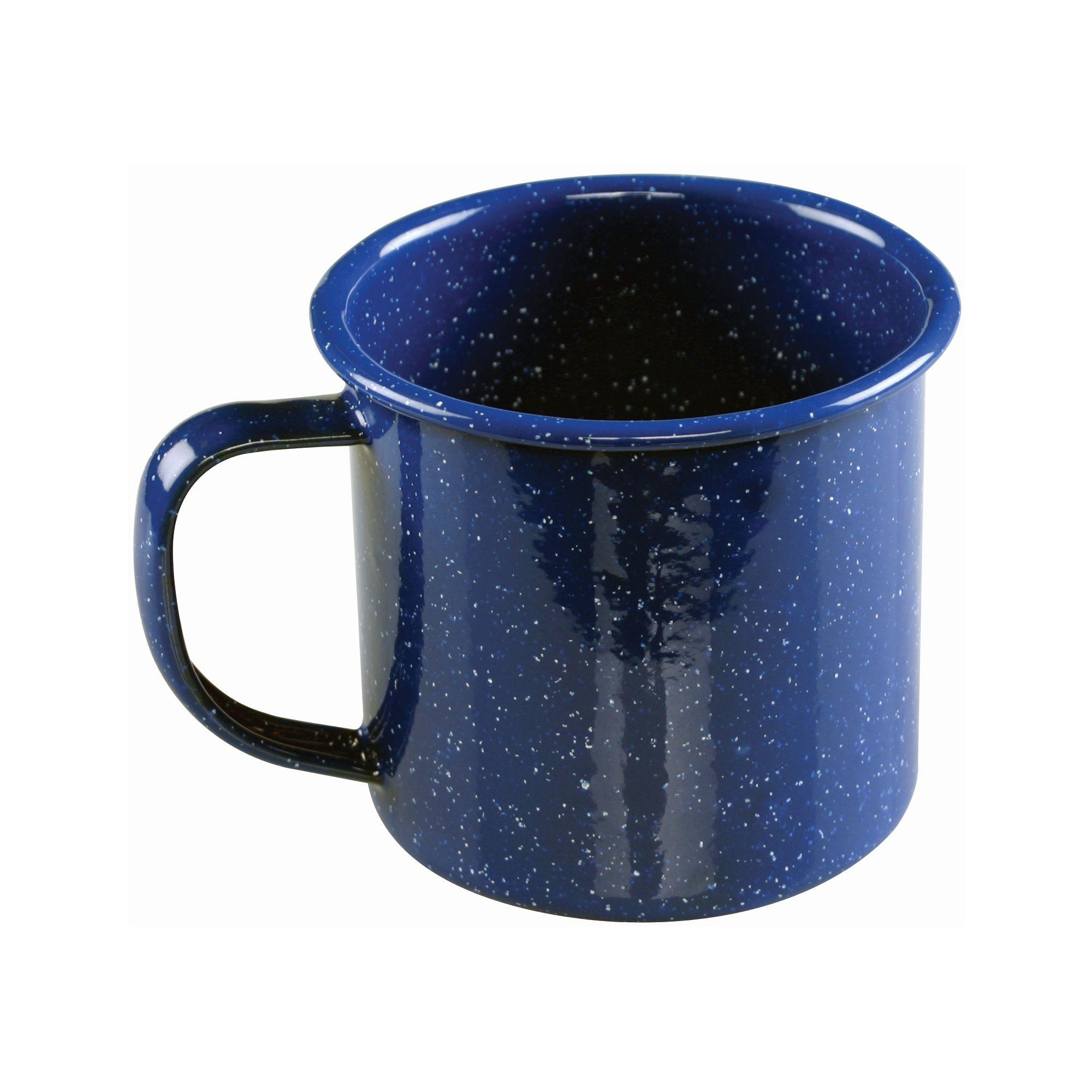 camping cup  enamel cooking set  coleman -  oz enamel mug