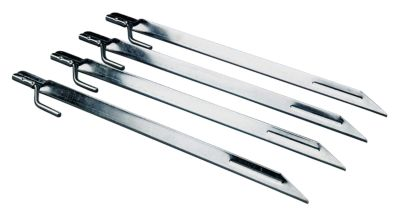 12-In. Steel Tent Stakes