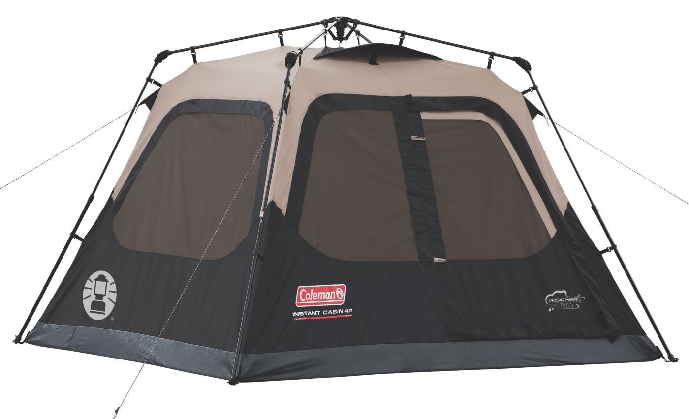 4-Person Instant Cabin  sc 1 st  Coleman : cabin tents on clearance - memphite.com