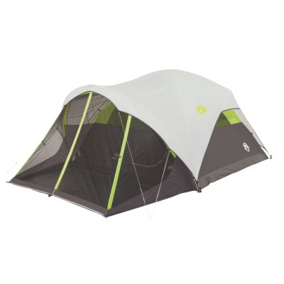 6-Person Steel Creek™ Fast Pitch™ Dome Camping Tent with Screen Room, Green