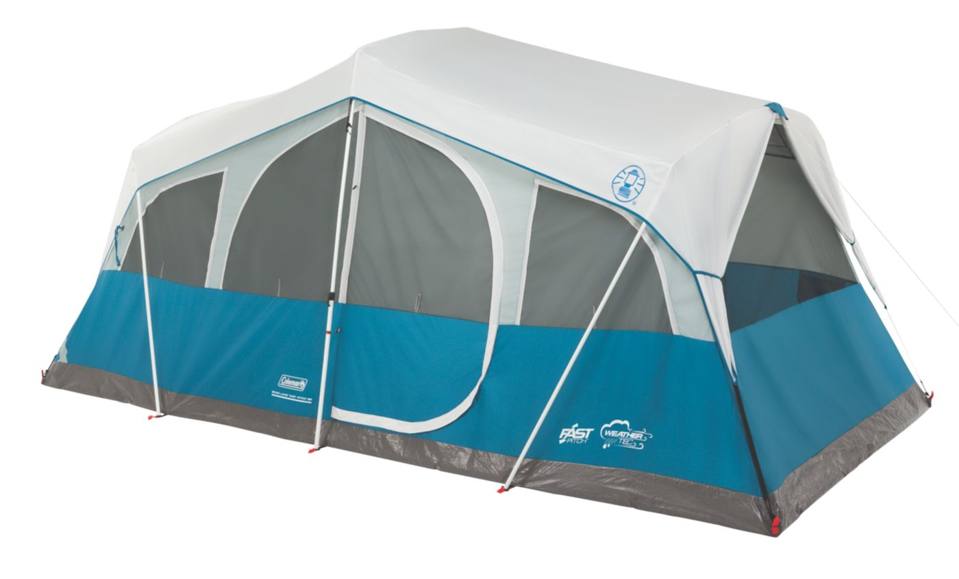 Echo Lake™ Fast Pitch™ 8-Person Cabin with Cabinets  sc 1 st  Coleman & 8 Man Tent | Big Camping Tent | Coleman