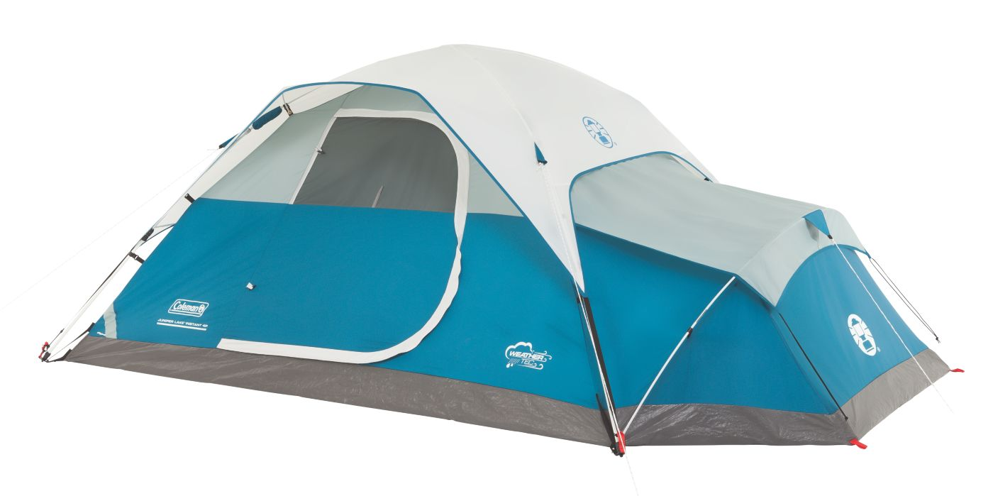Juniper Lake™ 4-Person Instant Dome Tent with Annex  sc 1 st  Coleman & 4 Person Dome Tents | Instant Dome Tent | Coleman