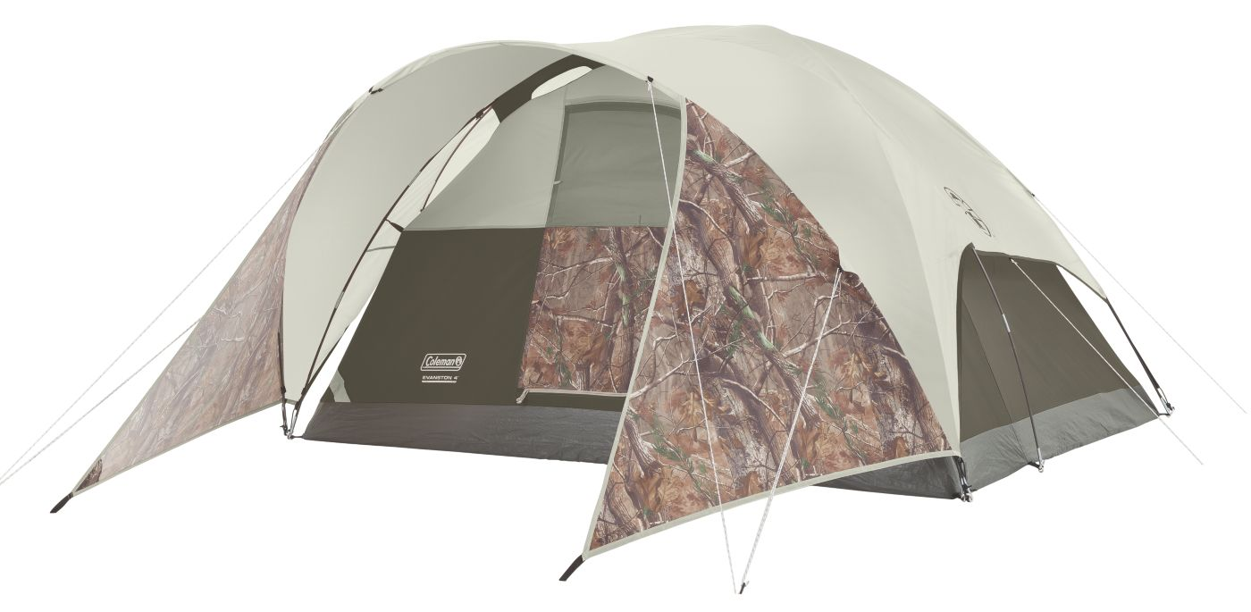 Evanston™ Realtree Xtra™ 4-Person Tent  sc 1 st  Coleman & Coleman Tents | 4 Person Tent | Coleman