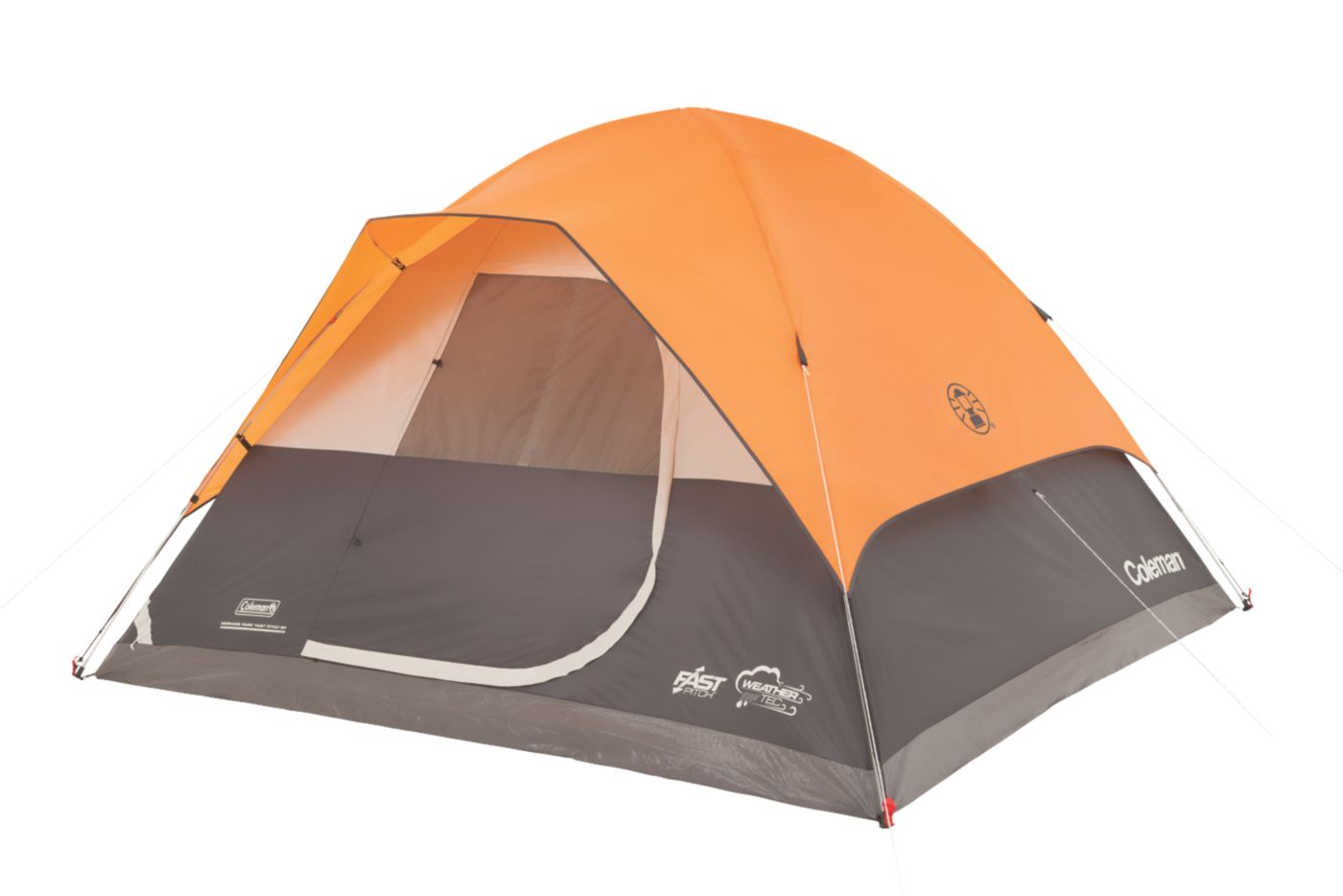Moraine Park™ Fast Pitch™ 6-Person Dome Tent  sc 1 st  Coleman : 4 person dome tent with porch - memphite.com