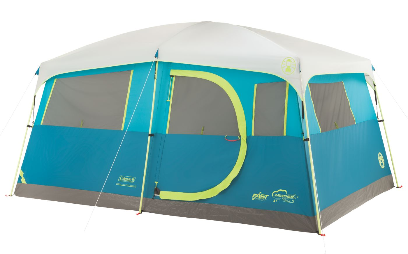 Tenaya Lake™ Fast Pitch™ 8-Person Cabin with Closet  sc 1 st  Coleman : 8 person pop up tent - memphite.com
