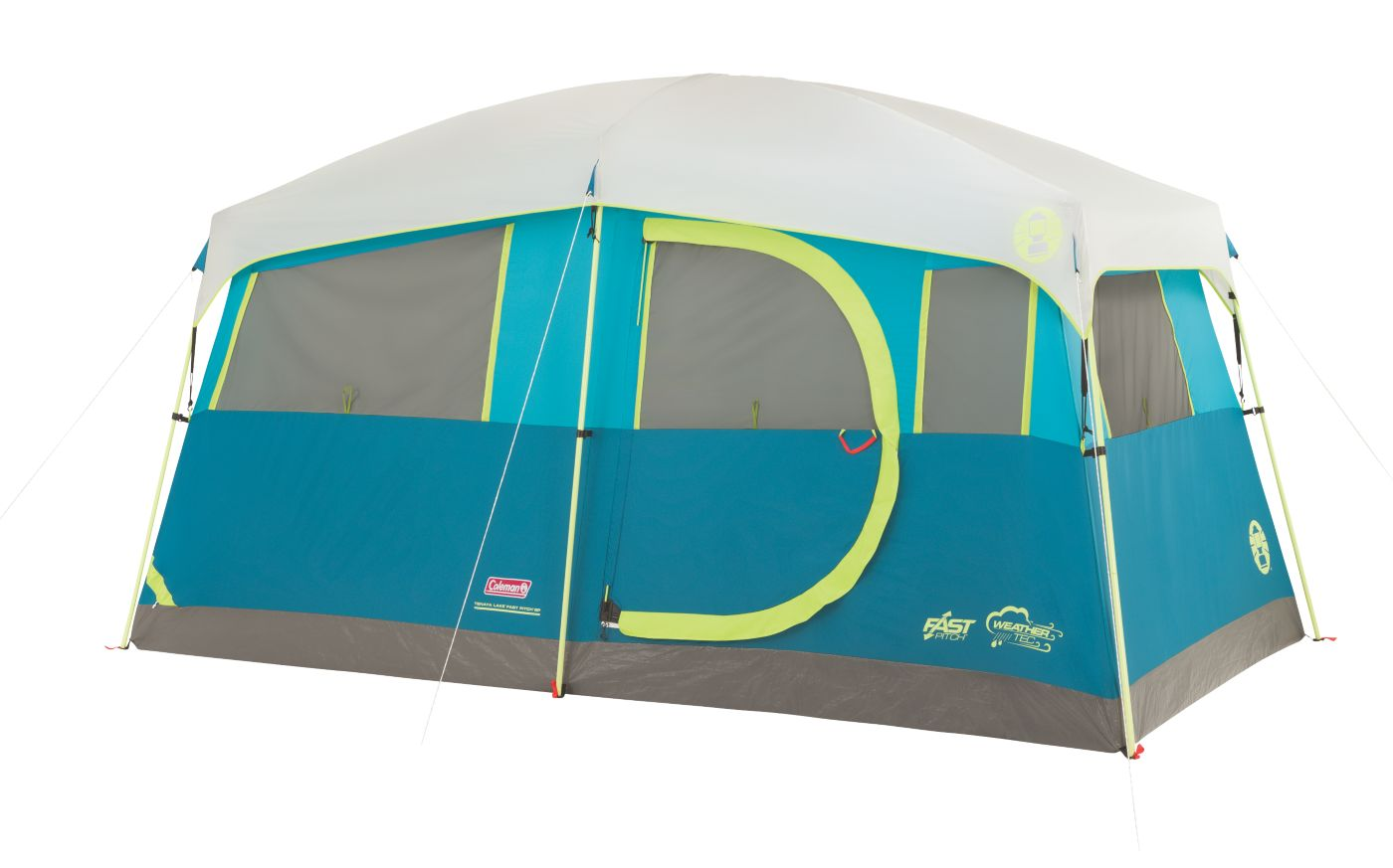 Tenaya Lake™ Fast Pitch™ 6-Person Cabin with Cabinets  sc 1 st  Coleman & 6 Person Tents | Tents for Camping | Coleman