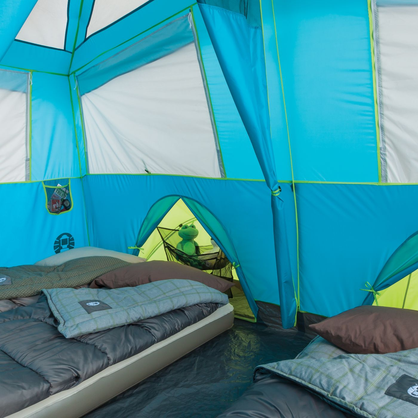 ... Tenaya Lake™ Fast Pitch™ 6-Person Cabin with Cabinets ...  sc 1 st  Coleman & 6 Person Tents | Tents for Camping | Coleman