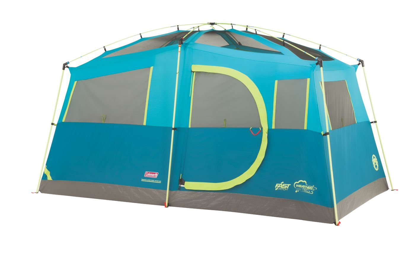 ... Tenaya Lake™ Fast Pitch™ 6-Person Cabin with Cabinets ...  sc 1 st  Coleman : coleman 3 season tent - memphite.com