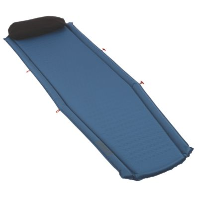 Coleman® Silverton™ Self-Inflating Sleeping Pad, Blue