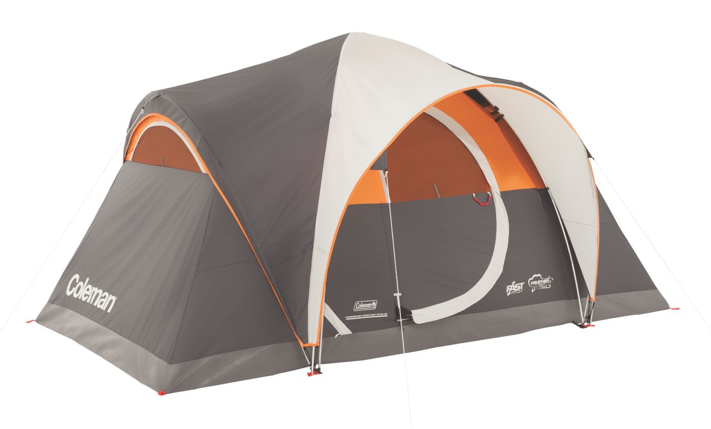 Yarborough Pass™ Fast Pitch™ 6-Person Tent  sc 1 st  Coleman : quick tents to put up - memphite.com