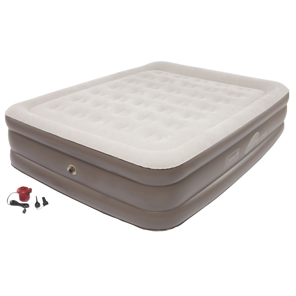 SupportRest™ Plus PillowStop™ Double High Airbed – Queen