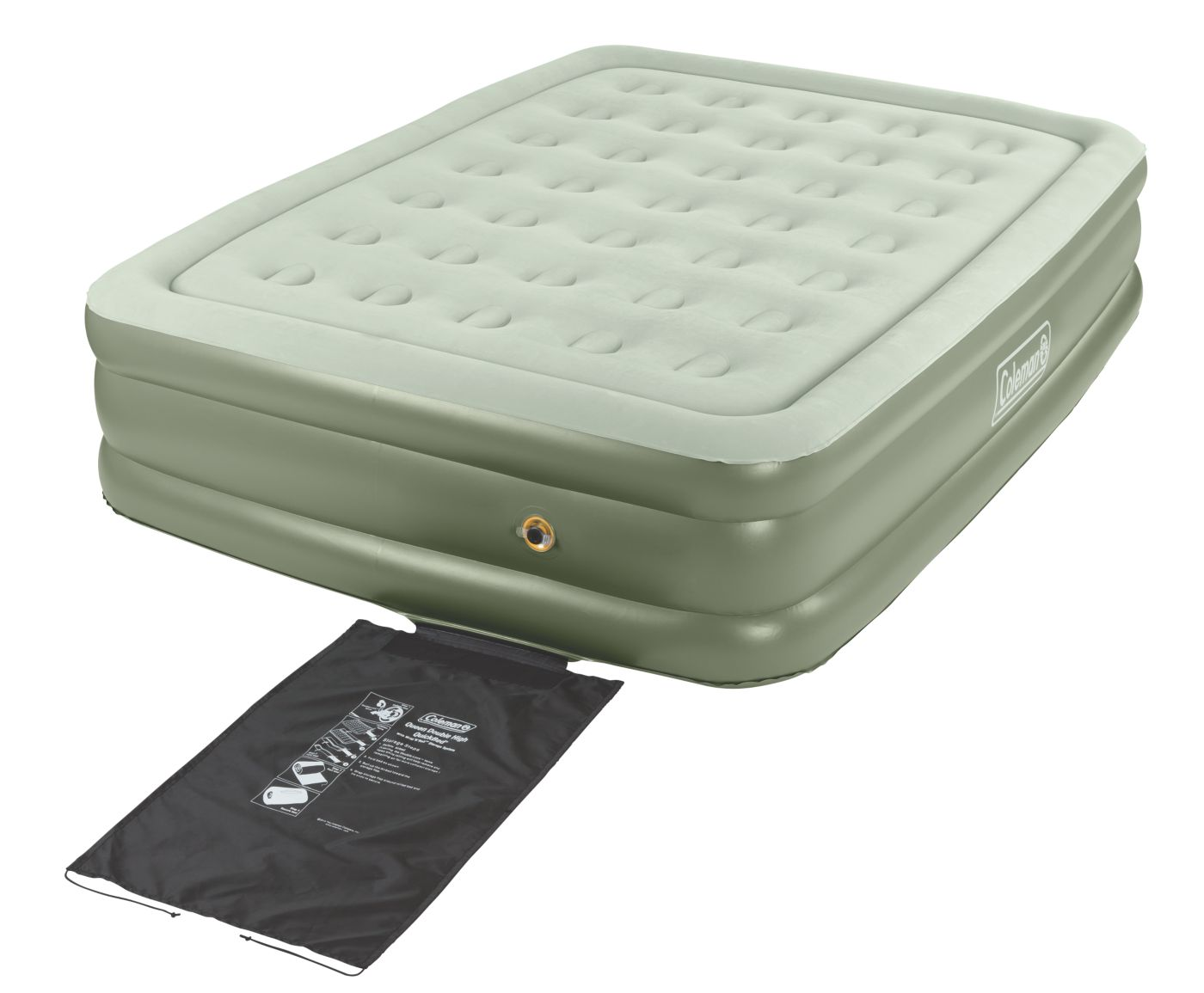 supportrest double high airbed u2013 queen